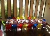 Arriendo de mesas y sillas infantiles