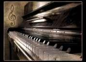 Clases particulares de piano clasico & popular