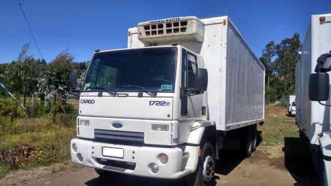 Ford Cargo 1722e Ano 2010 Carroceria Furgon Con Equipo De Frio