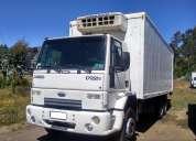 Ford cargo 1722e año 2010 carrocería furgón con equipo de frio