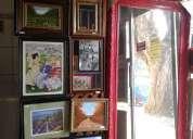 Enmarcaciones  para laminas, posters, pinturas oleos, etc.