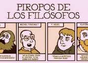 Clases particulares de filosofía, lengua, inglés y más