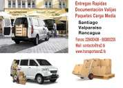 Repartos entregas despachos chofer furgon empresas santiago valparaíso rancagua