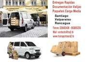 Vehiculos para empresas despachos entregas, santiago valparaíso rancagua camionetas furgones chofer