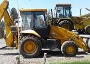 Retroexcavadora jcb 2006