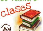 Clases particulares y apoyo escolar a domicilio