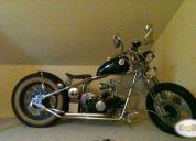 Se vende excelente moto bobber estilo chopper.
