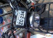 Excelente moto honda 125cc año 2011.