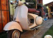 Excelente moto vespa italiana año 1958.
