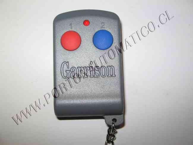 CONTROL REMOTO GARRISON