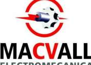 Taller electromecanico macvall