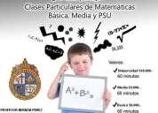clases particulares de matematicas todos los niveles y comunas