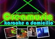 Karaoke para fiestas a domicilio - creamusic eventos