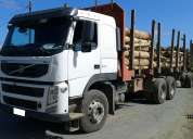 volvo fm 370 6x4 año 2011 carroceria y carro forestal