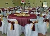 Lavandería de mantelería, lavado de artículos de tela para eventos y banquetes.