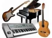 clases particulares de guitarra, piano y teclado