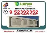 Aluprof mantencion y servicio tecnico para persianas exteriores de aluminio