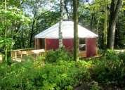 Construya yurtas en su complejo turistico