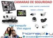 Venta e instalación cámaras de seguridad y servicio técnico