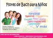 Flores de bach para niños, adultos y mascotas.