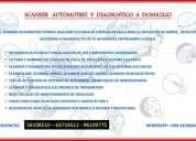 Scanner automotriz a domicilio y reparaciones mecánicas de todo tipo
