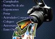 Servicio de fotografía profesional