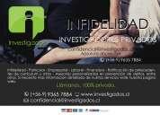 Investigados....servicios de investigaciones privadas