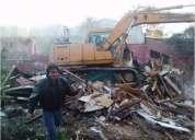 Demoliciones san bernardo 227098271 retiro escombros la cisterna todo stgo
