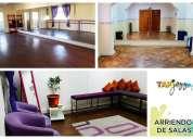 Arriendo de salas para danza, talleres y ensayos