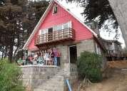 Paseos de curso el tabo casa parcela 50 personas frente al mar