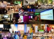 Eventos empresas workshop ferias exhibiciones promociones btl carpas banquetería logística