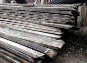 Vigas de roble de demolicion en 3 x 7 en 4.8 metros