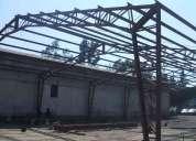 Maestro contratista en estructuras metalicas especialidad galpones construccion en general