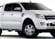 Vendo camioneta ford ranger xlt 4x4,full equipo en excelente estado