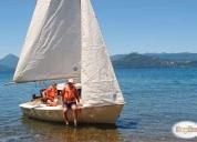 Vendo velero nautisail 15, con motor mercury 5 hp. oportunidad!