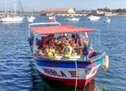 vendo embarcación de turismo de ocasion