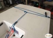 Excelente velero laser homologado muy poco uso
