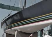 Excelente velero regatas soto 40 viña mar iii nr. 8