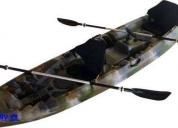 Excelente kayak de pesca, envío a regiones.