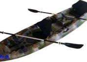Excelente kayak de pesca nuevos, singles y dobles