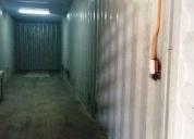 Arriendo bodega en excelente ubicación  contenedores 40 independientes