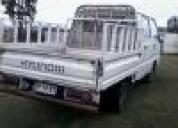 Excelente camioneta d/c hyundai porter2002
