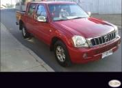 Excelente camioneta great wall soocol año 2011.