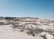 Muy buena inversion terreno de 17 hcts primera linea vista al mar las cruces