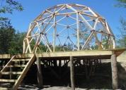 Pongo a la venta estructura domo 6 metros de diametro, 30 metros cuadrados