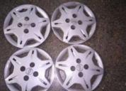 4 tapas ruedas totalmente originales