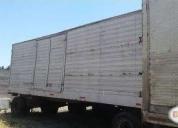 Excelente carros furgon de arrastre volumetricos