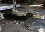 Carro de arrastre con enganche de inercia alemán marca alko,