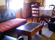 Se arrienda cabaña completamente amoblada y con elegantes habitaciones  en puerto varas