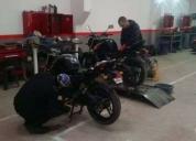 Arriendo espacios taller de motos galpon,contactarse!